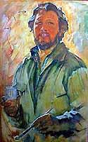Alexandr Egidis (1932-2003), self portrait