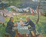 artists: Alexei *1925 and Sergei Tkachev *1922