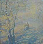 O.Mertsalova (1978). Waiting. Studio of prof. Kichko.