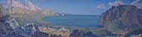 T. Sakharova. Crimean landscape. prof. Kichko