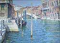 Gritsay A. , *Venice*, oil on canvas, 1950's