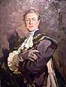 artist: Lev Russov (portrait of artist Strizhelchik)