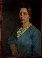 Anatoli Treskin - portrait of his spouse