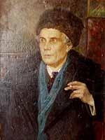 Anatoli Treskin - portrait of an actor friend
