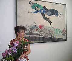 granddaughter of Marc Chagall