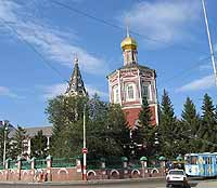 Orthodox Church, city of Saratov, Russia
